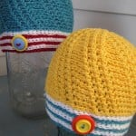 Spinnaker Baby Hat ~ Mr. Micawber's Recipe for Happiness