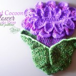 Infant Cocoon Flower Photo Prop ~ Stitch11