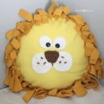 Lion Face Applique ~ Repeat Crafter Me