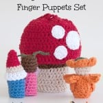 Magical Toadstool Finger Puppets ~ Moogly