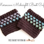 Moroccan Midnight Boot Cuffs ~ Moogly