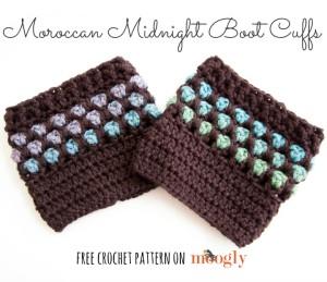 Moroccan Midnight Boot Cuffs ~ Moogly