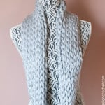 Not Knit Warm and Quick Winter Cowl ~ Oombawka Design