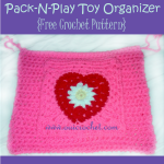 Pack-N-Play Toy Organizer ~ Oui Crochet