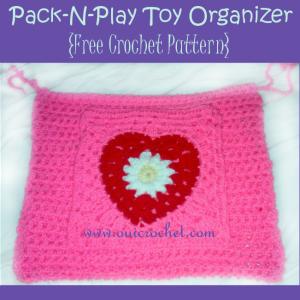 Pack-N-Play Toy Organizer ~ Oui Crochet