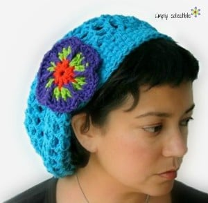 Penelope's Summer Slouch Hat ~ Celina Lane - Simply Collectible