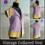 Vintage Collared Vest ~ Maz Kwok's Designs