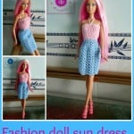 Fashion Doll Sun Dress ~ Maz Kwok's Designs