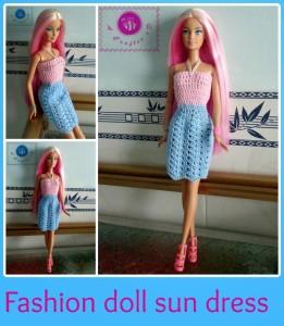Fashion Doll Sun Dress ~ Maz Kwok's Designs