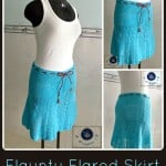 Flaunty Flared Skirt ~ Maz Kwok's Designs