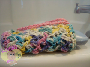 Pick-A-Project (Can Cozy, Soap Saver, Drawstring Pouch) ~ Raelynn Orff - AllieCat's Hats and Crafts