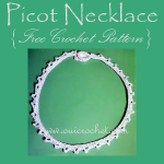 Picot Necklace ~ Oui Crochet