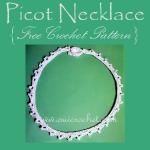 Picot Necklace ~ Oui Crochet