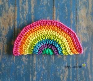 Rainbow Daze Washcloth ~ Celina Lane - Simply Collectible