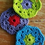 Retro Bloom Scrubbie ~ Celina Lane – Simply Collectible