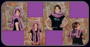 Pink Snakeskin Scoodie ~ Sara Sach - Posh Pooch Designs