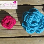 Simple Crochet Roses (3 Sizes) ~ Knot Your Nana's Crochet