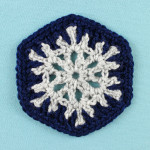 Snowflake Hexagon ~ Gleeful Things