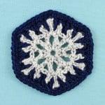 Snowflake Hexagon ~ Gleeful Things