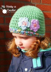 Touch of Spring Hat ~ My Hobby is Crochet