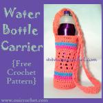 Water Bottle Carrier ~ Oui Crochet
