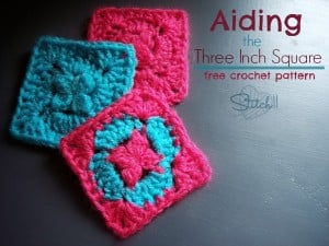 Aiding - The Three Inch Granny Square ~ Stitch11