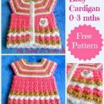 Baby Cardigan ~ My Hobby is Crochet