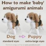 How to Make Baby Amigurumi Animals ~ PlanetJune