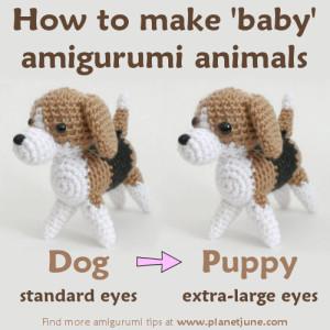 How to Make Baby Amigurumi Animals ~ PlanetJune