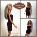 Barbie Tube Dress ~ Rhelena – CrochetN'Crafts