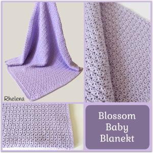 Blossom Baby Blanket ~ Rhelena - CrochetN'Crafts