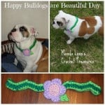 Bulldogs are Beautiful Necklace ~ Manda Proell - MandaLynn's Crochet Treasures