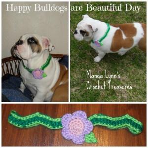 Bulldogs are Beautiful Necklace ~ Manda Proell - MandaLynn's Crochet Treasures
