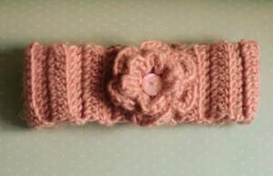 Child's Flower Headband ~ Amigurumi Barmy