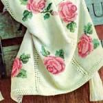Rose Afghan ~ Free Vintage Crochet
