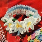 Bridal Garter ~ Free Vintage Crochet