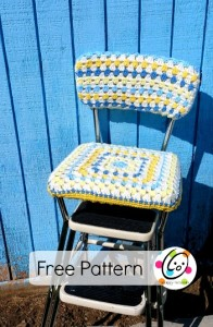 Old Stool, New Look ~ Snappy Tots
