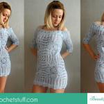 Crochet Beach Cover Up ~ Jane Green – Beautiful Crochet Stuff