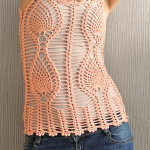 Pineapple Crochet Top ~ Jane Green – Beautiful Crochet Stuff