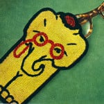 Professor Elephant Eye Glass Case ~ Free Vintage Crochet