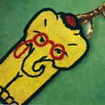 Professor Elephant Eye Glass Case ~ Free Vintage Crochet
