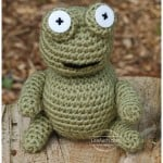 Gilbert the Frog ~ Free Crochet Patterns and Designs by LisaAuch