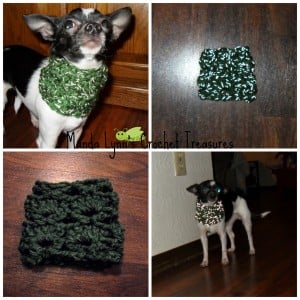 Anca's Reflection 4 Small Pups ~ Manda Proell - MandaLynn's Crochet Treasures