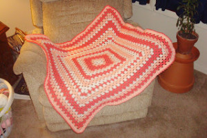 Granny Baby Afghan Edging ~ Dly's Hooks and Yarns