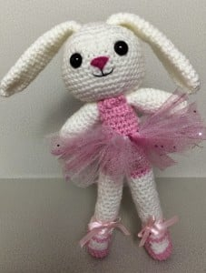Easter Ballerina Bunny ~ PJ Crafts in Austin