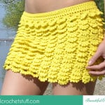 Layered Crochet Skirt ~ Jane Green – Beautiful Crochet Stuff