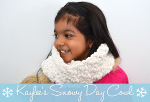 Kaylee's Snowy Day Cowl ~ The Stitchin' Mommy