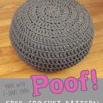 Floor Pillow Pouf Ottoman ~ Gleeful Things