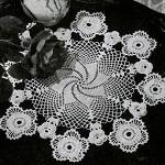Irish Crochet Doily ~ Free Vintage Crochet