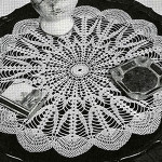 Northern Lights Doily ~ Free Vintage Crochet